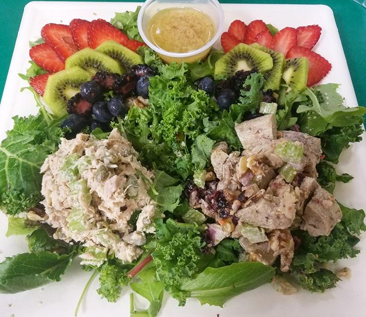 Seasonal Fruit and Nut Salad